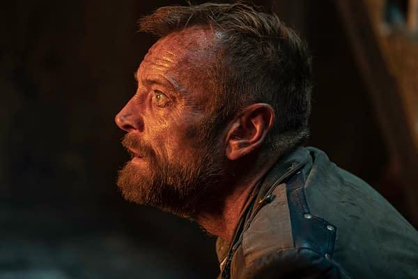 Richard Dormer as Captain Sam Vimes - The Watch _ Season 1 - Photo Credit: Ilze Kitshoff/BBCA