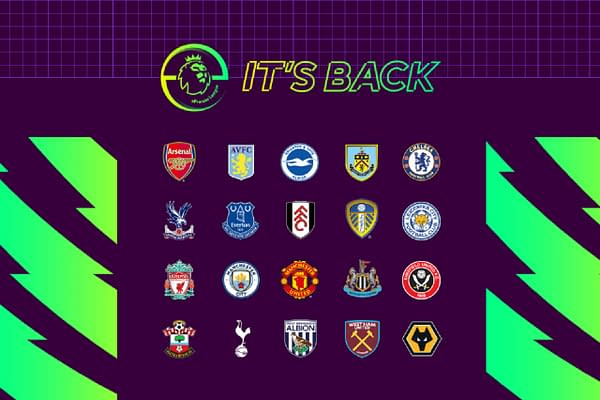 A look at the teams you'll be working with in the ePremier League, courtesy of EA Sports.