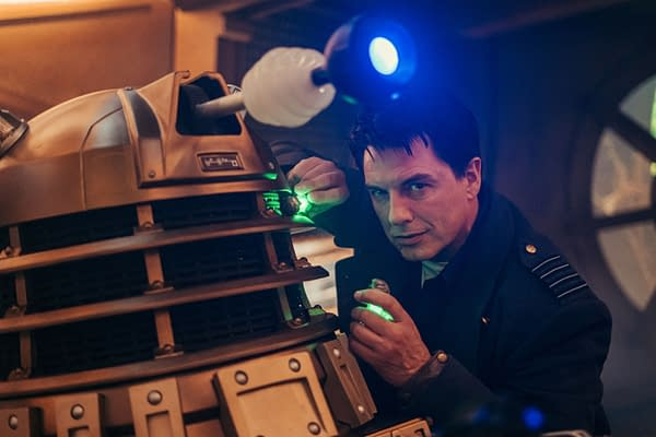 "Doctor Who ""Revolution of the Daleks"" Brings Back Bronzed Big Bads"