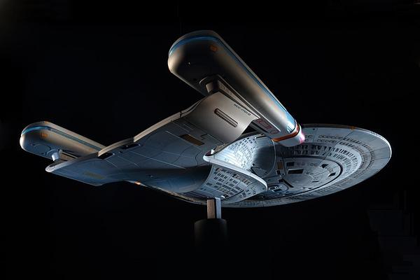 Build the Star Trek Enterprise-D With Hero Collector