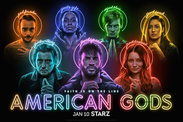 American Gods Season 3 Trailer: Shadow Moon Can't Outrun His Destiny (Image: STARZ)