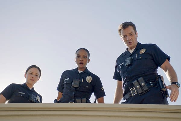 The Rookie Season 3 Preview: Nolan Deals with an Unexpected Visitor