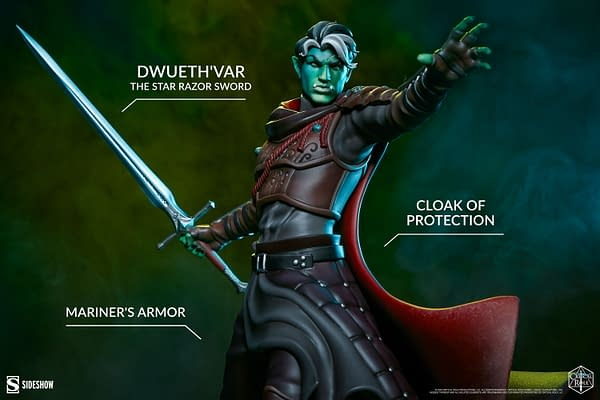 Critical Role Fjord Pledges His Sword to Sideshow Collectibles