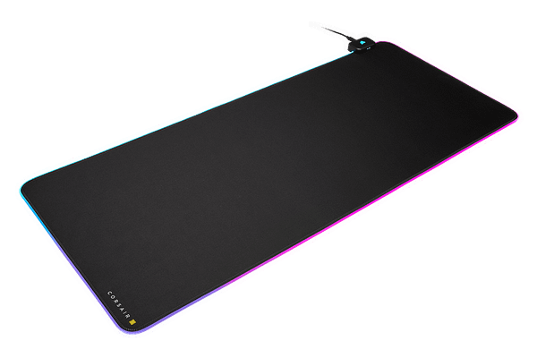 A look at the MM700 RGB Extended Mouse Pad, courtesy of CORSAIR.