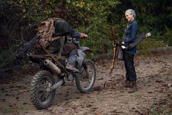 "The Walking Dead: ""Lucille's"" Origin Clip; C. Thomas Howell Returns?"
