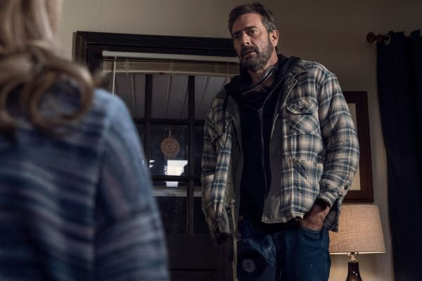 The Walking Dead: Lauren Cohan Just Can't Hate Jeffrey Dean Morgan