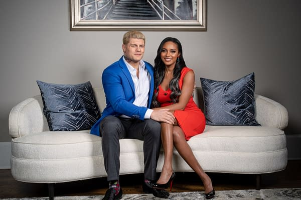 Cody and Brandi Rhodes, stars of the new TNT reality show Rhodes to the Top