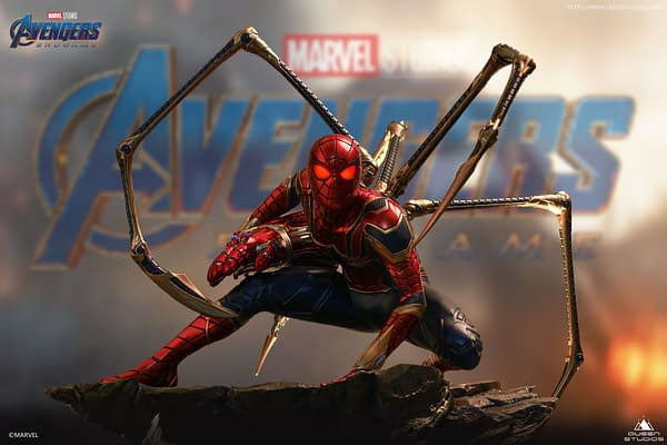 Avengers: Endgame Iron Spider Gets New Statue From Queen Studios