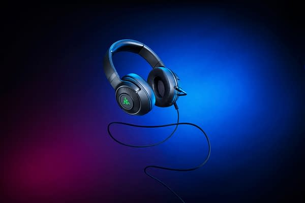 A look at the Kraken V3 X Headset, courtesy of Razer.