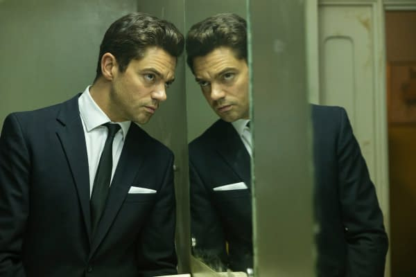 Dominic Cooper Looks In The Mirror In First Spy City First Look