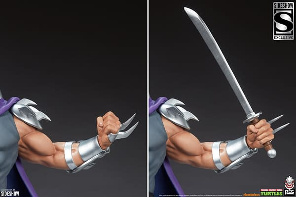 TMNT Shredder Wants Turtle Soup With PCS Collectibles New Statue