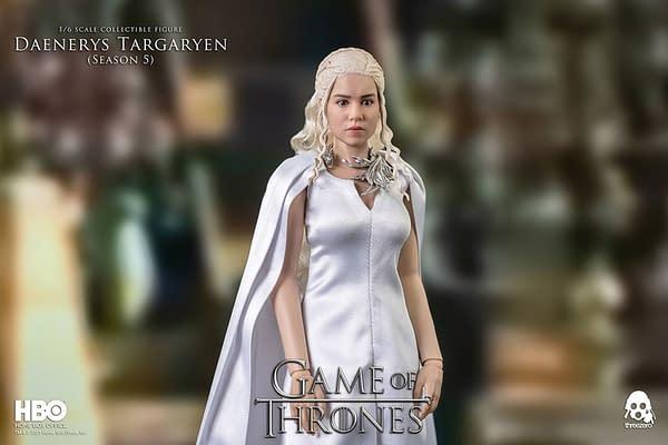 Threezero Debuts New Game of Thrones Daenerys Targaryen Season 5 Figure