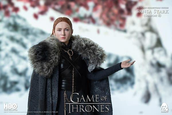 Game of Thrones Sansa Stark Receives Season 8 Figure From threezero