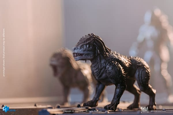 Invisible Predator and New Predator Hounds Arrive from Hiya Toys