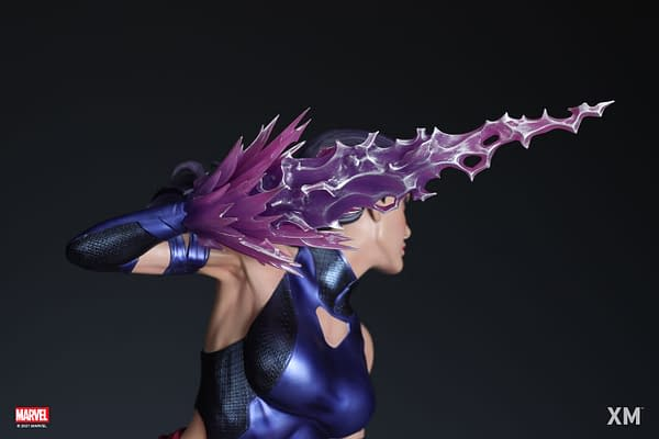 X-Men's Psylocke Joins the Fight With New XM Studios Marvel Statue
