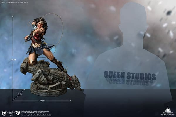Wonder Woman Gets Beautiful 1/4 Scale Statue From Queen Studios