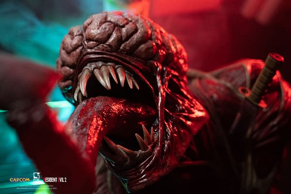 Resident Evil Licker Receives Full Size 1:1 Replica Bust from PureArts