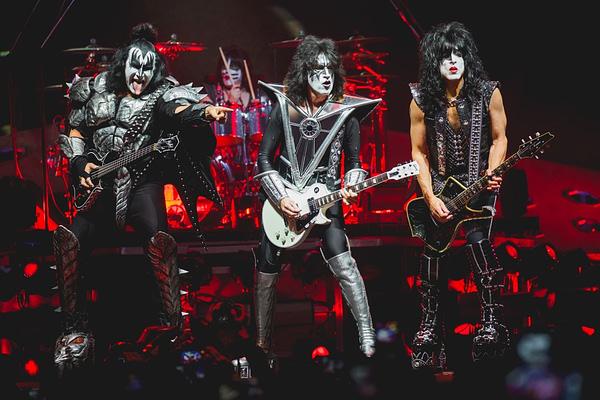 March 9, 2019: KISS performs live at Van Andel Arena. Editorial credit: Tony Norkus / Shutterstock.com