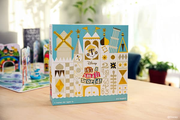 A look at the box art for It's A Small World, courtesy of Funko Games.