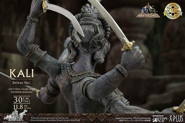 Star Ace Toys Debuts Ray Harryhausen Stop Motion Kali Statue