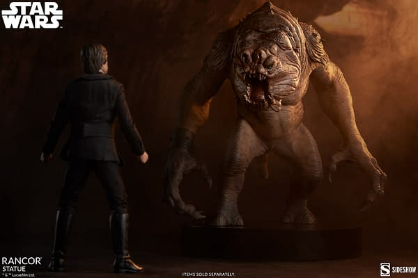 Beware the Rancor As Sideshow Collectibles Reveals Their Newest Statue