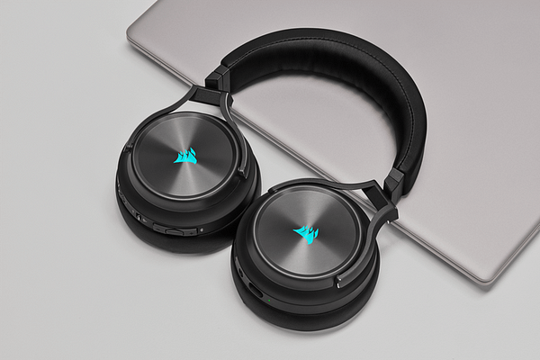 A look at the Virtuoso RGB Wireless XT Gaming Headset, courtesy of CORSAIR.
