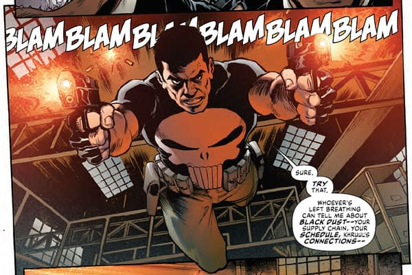 First Punisher Appearance In A Year In New Marvel Sian-Cong History