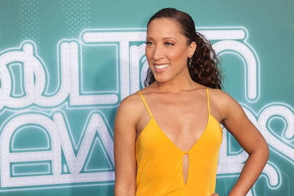 Robin Thede arrives at the BET Presents: 2017 Soul Train Awards in Las Vegas, Nevada on November 5th 2017 at the Orleans Arena (Jamie Lamor Thompson / Shutterstock.com)