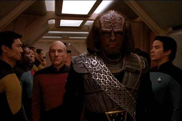 Star Trek: The Next Generation: Ronald Moore on Fighting for Worf Arc