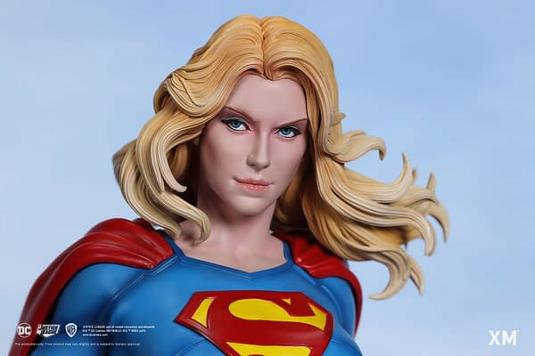 XM Studios Sets Their Sights on Supergirl With New DC Comics Statue