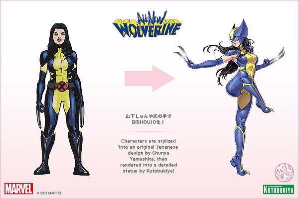 Wolverine (Laura Kinney) Pops Her Claws With Kotobukiya Bishoujo