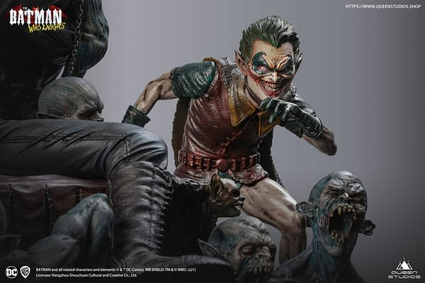 The Batman Who Laughs Returns With New Queen Studios Statue