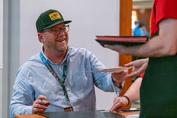 Bonn, Germany - June 8 2019: Robert Duncan McNeill (*1964, American actor and director - Star Trek: Voyager) is happy to meet fans at FedCon 28 (Markus Wissmann / Shutterstock.com)