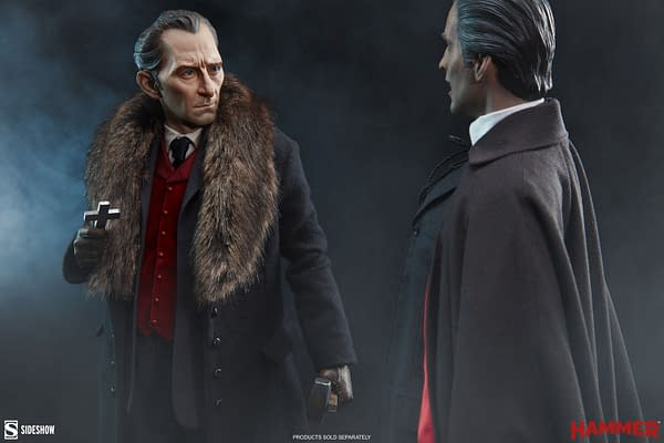 Peter Cushing's Van Helsing Hunts Dracula With Sideshow Collectibles