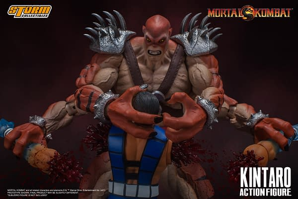 Mortal Kombat Kintaro Pre-Orders Arrive from Storm Collectibles