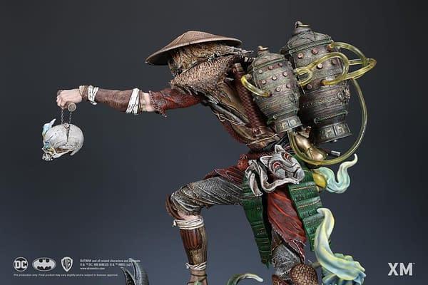 DC Comics Scarecrow Embraces Ancient Japan With XM Studios