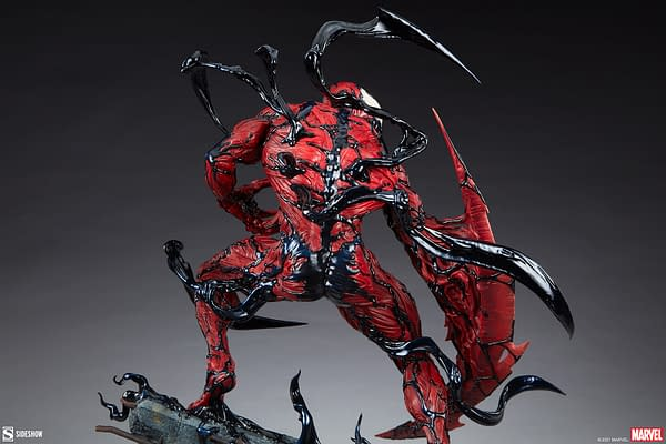 Carnage Wants Some Spider-Man Blood With New Sideshow Statue