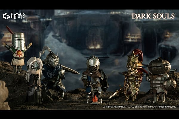 Dark Souls Gets Adorable With Vol. 1 Minifigures from AGTOYS