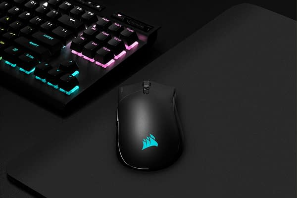 A look at the RGB Pro Wireless Gaming Mouse, courtesy of CORSAIR.