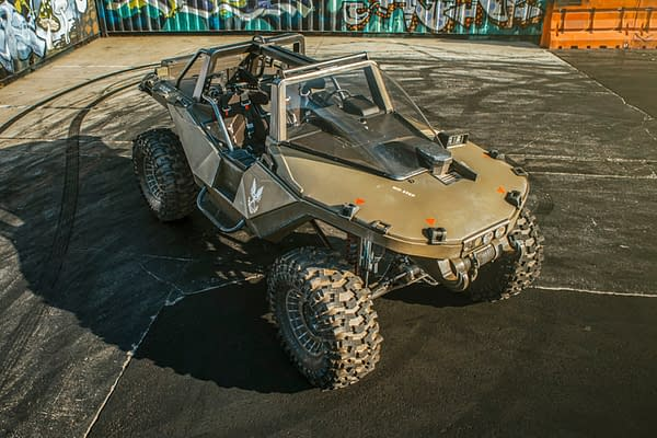 All that's missing is Sarge and company running over a random soldier. Courtesy of Hoonigan Industries.