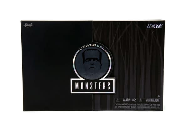 Frankenstein's Monster Lives Again with New Jada Toys Deluxe Figure