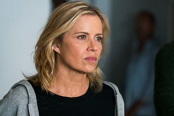 Kim Dickens as Madison Clark- Fear the Walking Dead _ Season 2, Episode 11 - Photo Credit: Richard Foreman Jr/AMC