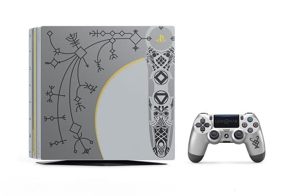 The PS4 is Getting a Special God Of War Bundle Edition