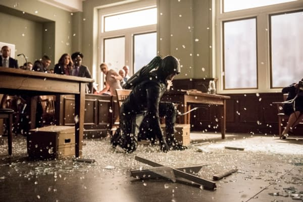 Arrow Season 6: 20 Spoiler-Filled Images Released for 'Docket No. 11-19-41-73'
