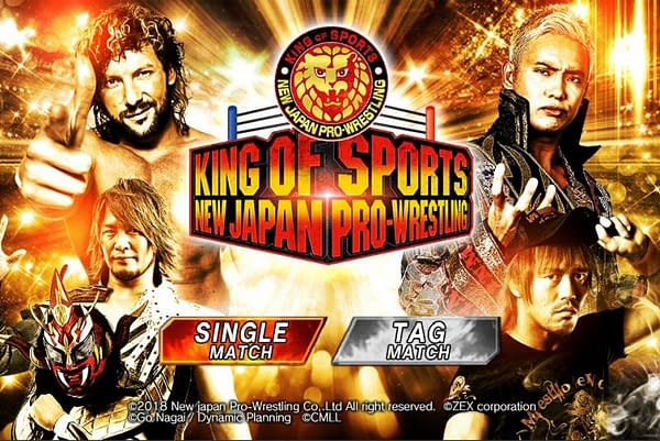 New Japan Pro Wrestling Releases Their Own Mobile Game