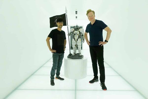 """Hideo Kojima & """"Death Stranding"""" PR Rep, Aki Saito, Cameo In """"Control"""""""