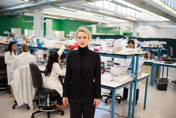 CEO Elizabeth Holmes of Theranos