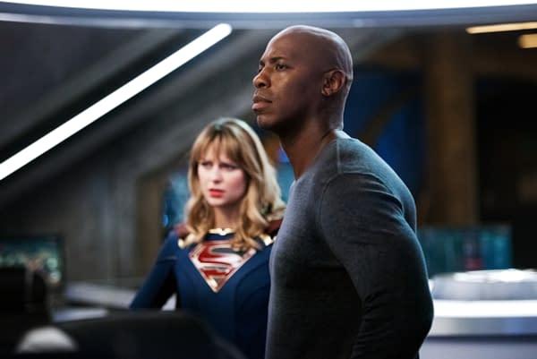 Supergirl: Mehcad Brooks Set for Finale; Melissa Benoist Talks Returns