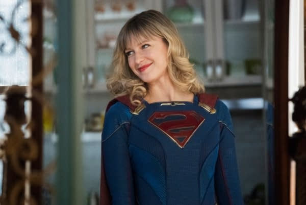 """Supergirl -- """"Immortal Kombat"""" -- Image Number: SPG519A_0331r.jpg -- Pictured: Melissa Benoist as Kara/Supergirl -- Photo: Dean Buscher/The CW -- © 2020 The CW Network, LLC. All rights reserved."""