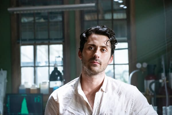 "Swamp Thing -- ""Pilot"" -- Image Number: SWP101a_0090 V1 -- Pictured: Andy Bean as Alec Holland -- Photo: Brownie Harris / 2020 Warner Bros. Entertainment Inc. -- © 2020 Warner Bros. Entertainment Inc. All Rights Reserved."